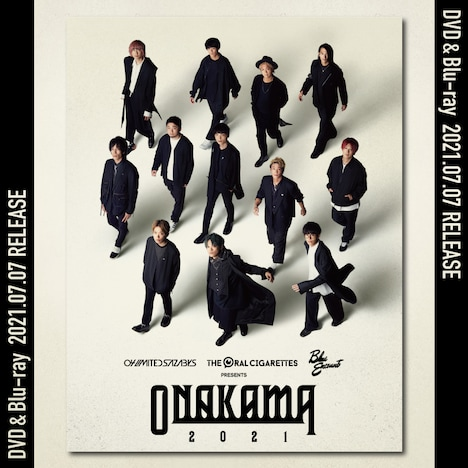 「ONAKAMA 2021」ライブDVD / Blu-ray告知画像