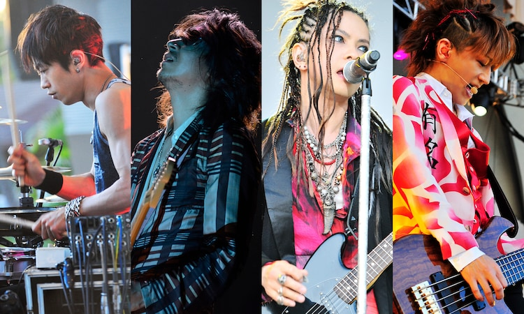 「L'Arc-en-Ciel『20th L'Anniversary Year Live in Hawaii』May 31, 2012 Waikiki Shell」より。
