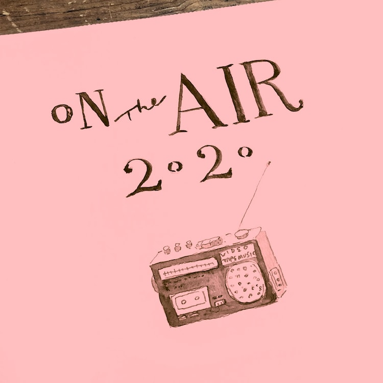 VIDEOTAPEMUSIC「On The Air 2020 (April 10)」配信ジャケット