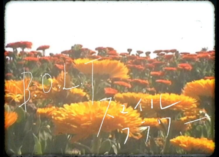 B.O.L.T「スマイルフラワー」ミュージックビデオより。