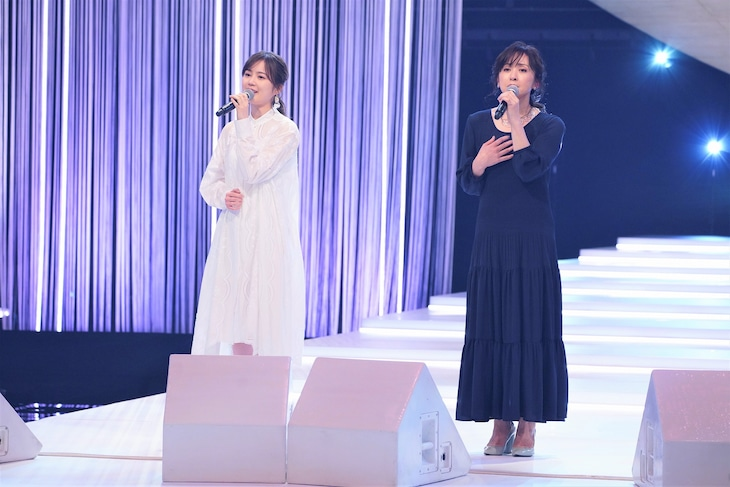 生田絵梨花(乃木坂46)、斉藤由貴。(写真提供:NHK)