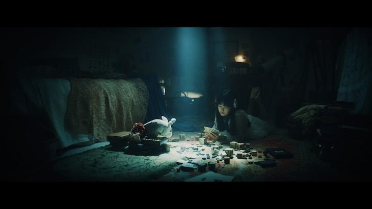 Aimer「wonderland」ミュージックビデオより。