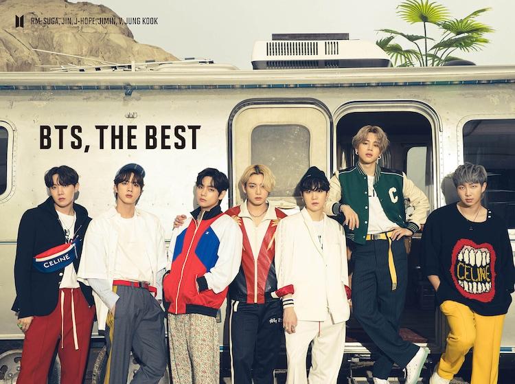 BTS「BTS, THE BEST」初回限定盤Bジャケット