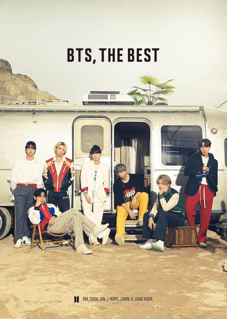 BTS「BTS, THE BEST」BTS JAPAN OFFICIAL FANCLUB限定盤ジャケット