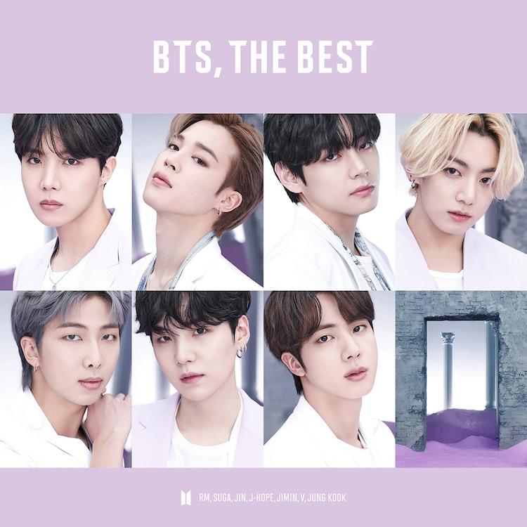 BTS「BTS, THE BEST」UNIVERSAL MUSIC STORE限定盤ジャケット