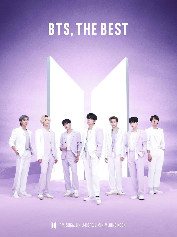 BTS「BTS, THE BEST」初回限定盤Aジャケット