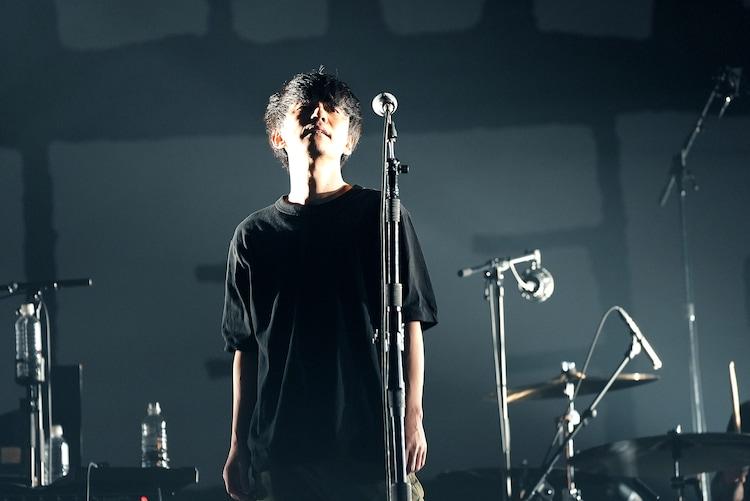 「渋谷すばる ONLINE LIVE 2021『NEED』」の様子。(撮影:伊藤岳)