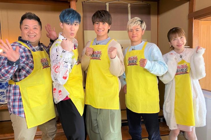 """""""SixTONES・ジェシー、森本チーム""""のメンバー。 (c)TBS"""