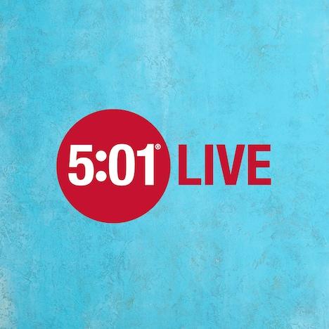 「5:01 LIVE」ビジュアル