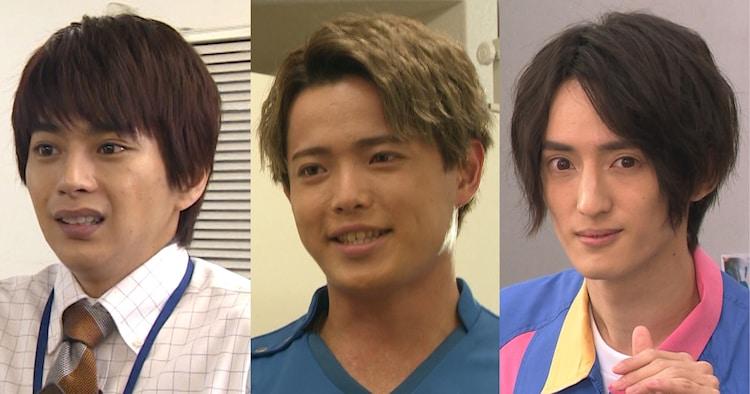 左から佐藤勝利、吉澤閑也、川島如恵留。 (c)フジテレビ