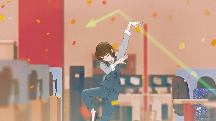 May'n「未来ノート」ミュージックビデオのサムネイル。
