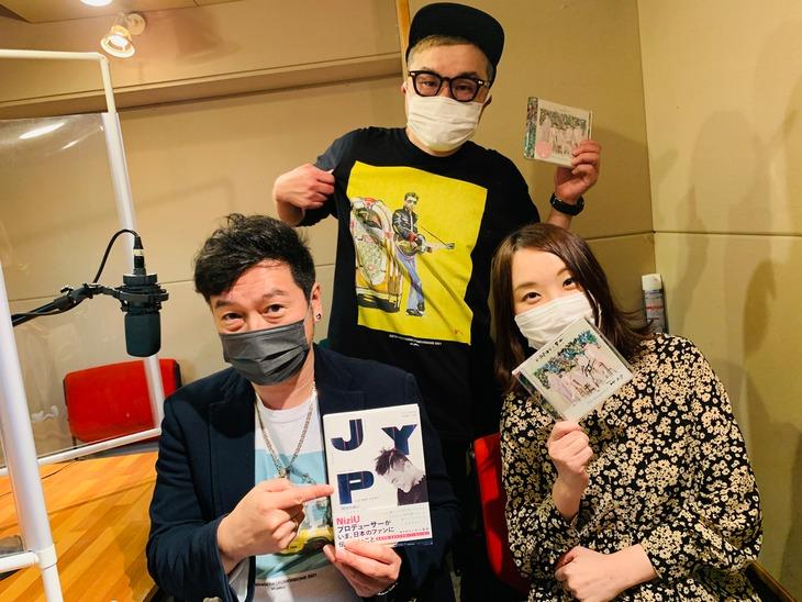 左から黒沢薫(ゴスペラーズ)、西寺郷太 (NONA REEVES)、K-POPゆりこ。