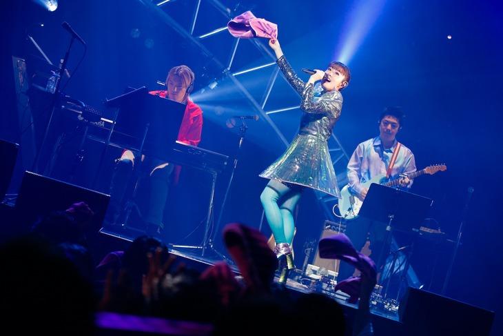 「降幡 愛 1st Live Tour APOLLO」の様子。