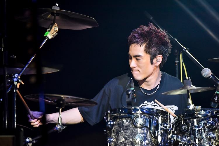 泉大智(Dr / DISH//)(Photo by AZUSA TAKADA)