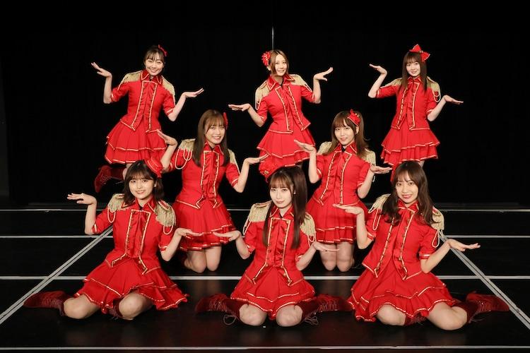 高柳明音卒業公演の出演メンバー。(c)2021 Zest,Inc
