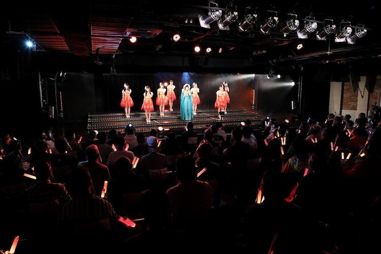 松井珠理奈卒業公演の様子。(c)2021 Zest,Inc