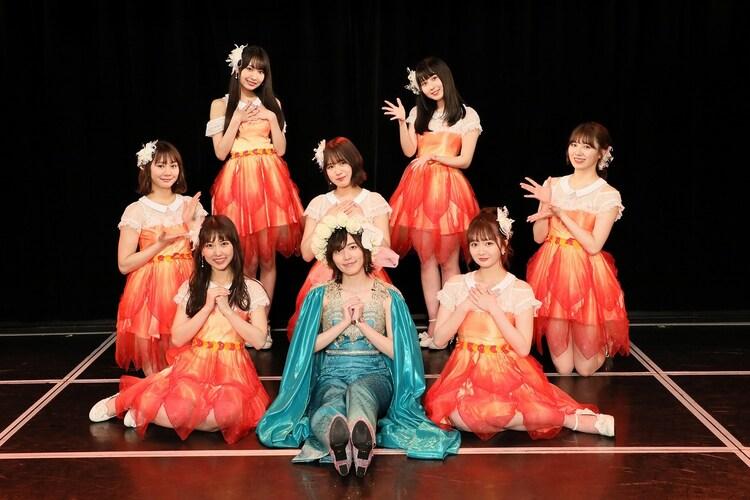松井珠理奈卒業公演の出演メンバー。(c)2021 Zest,Inc