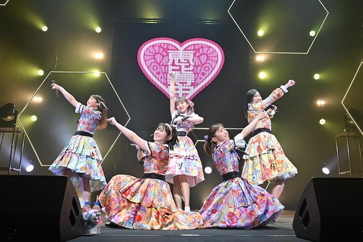 本日4月30日に神奈川・パシフィコ横浜 国立大ホールで行われた「私立恵比寿中学 Best at the moment series『6Voices』」最終公演の様子。