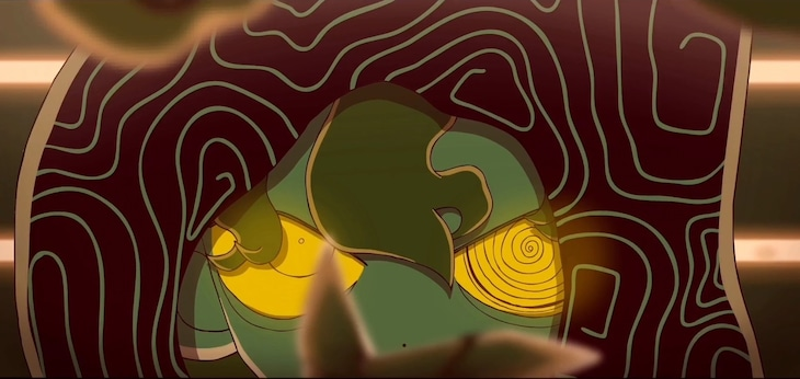 Eve「夜は仄か」ミュージックビデオより。