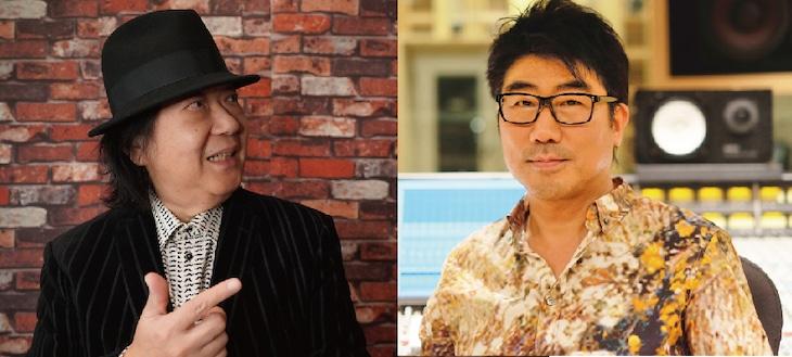 ミッキー吉野と亀田誠治。