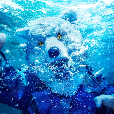 MAN WITH A MISSION「INTO THE DEEP」初回限定盤ジャケット