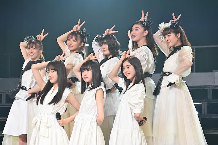 新メンバーが加わった私立恵比寿中学。