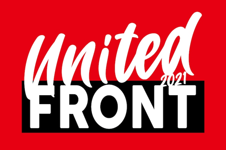 「DRAGONASH LIVE TOUR 『UNITED FRONT 2021』」ロゴ