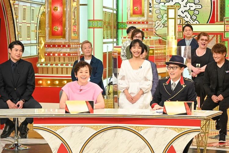 TBS系「中居正広のキンスマスペシャル」の様子。(c)TBS