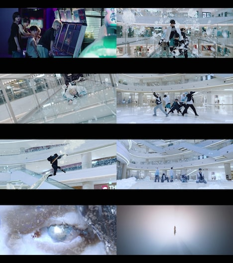 TOMORROW X TOGETHER「The Chaos Chapter: FREEZE」コンセプトトレイラー映像より。(c)BIGHIT MUSIC