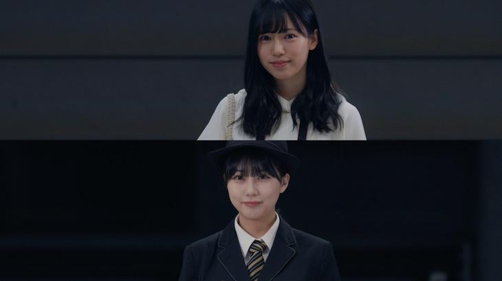 HKT48「『君とどこかへ行きたい』MV Behind the Scene」のサムネイル。(c)Mercury