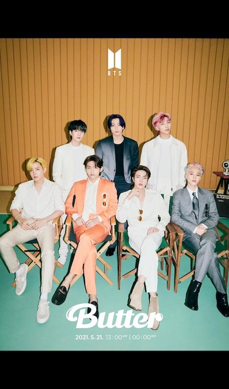 BTS「Butter」の新たなコンセプトフォト。(c)BIGHIT MUSIC
