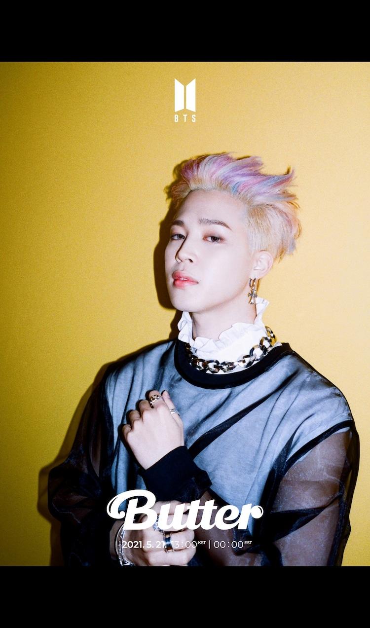 BTS「Butter」の新たなコンセプトフォト(JIMIN Ver.)。(c)BIGHIT MUSIC