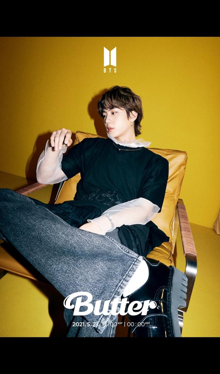 BTS「Butter」の新たなコンセプトフォト(JIN Ver.)。(c)BIGHIT MUSIC