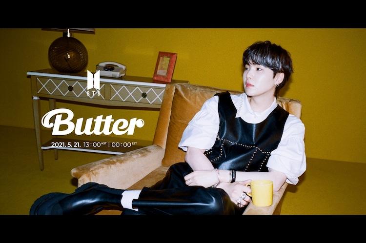 BTS「Butter」の新たなコンセプトフォト(SUGA Ver.)。(c)BIGHIT MUSIC