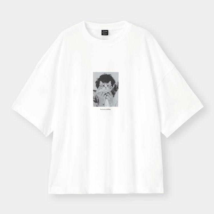 ジーユー 須田景凪コラボレーションコレクション ワイドフィットT1