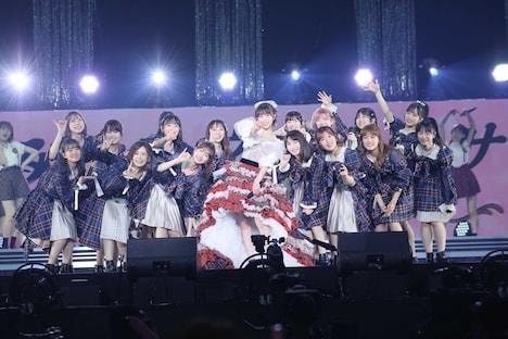 アンコールの様子。 (c)AKB48