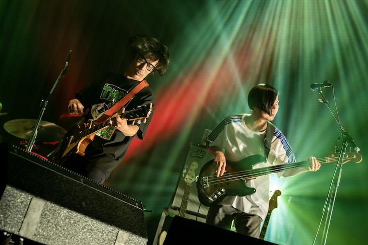 「くるりライブツアー2021」大阪公演の様子。(撮影:井上嘉和)
