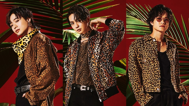THE RAMPAGE from EXILE TRIBEの山本彰吾、吉野北人、岩谷翔吾。