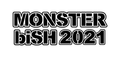 「MONSTER biSH 2021」ロゴ