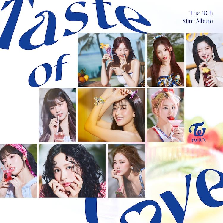 TWICE「Taste of Love」配信ジャケット