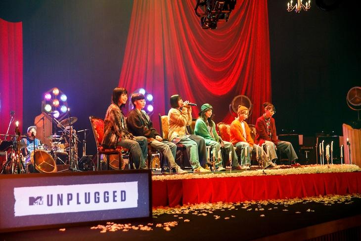 「MTV Unplugged: BiSH」より。(Photo by sotobayashi kenta)