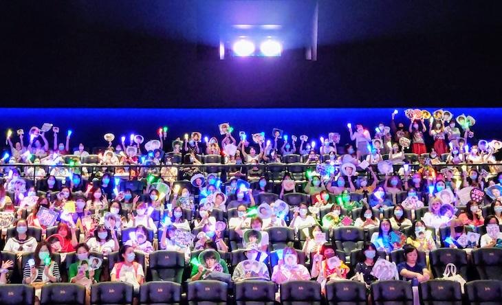 """「第24回上海国際映画祭」より、「ARASHI Anniversary Tour 5×20 FILM """"Record of Memories""""」ワールドプレミア上映初日の様子。 (c)2021 J Storm Inc."""