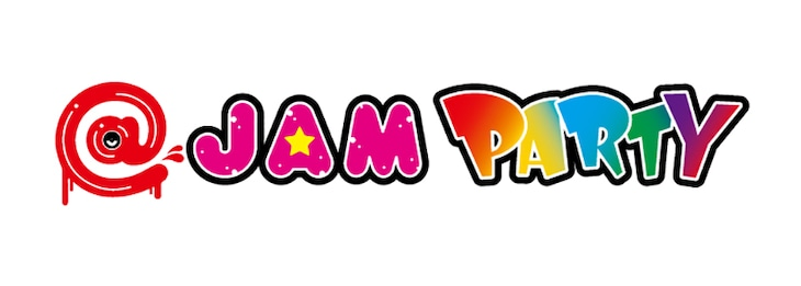 「@JAM PARTY」ロゴ