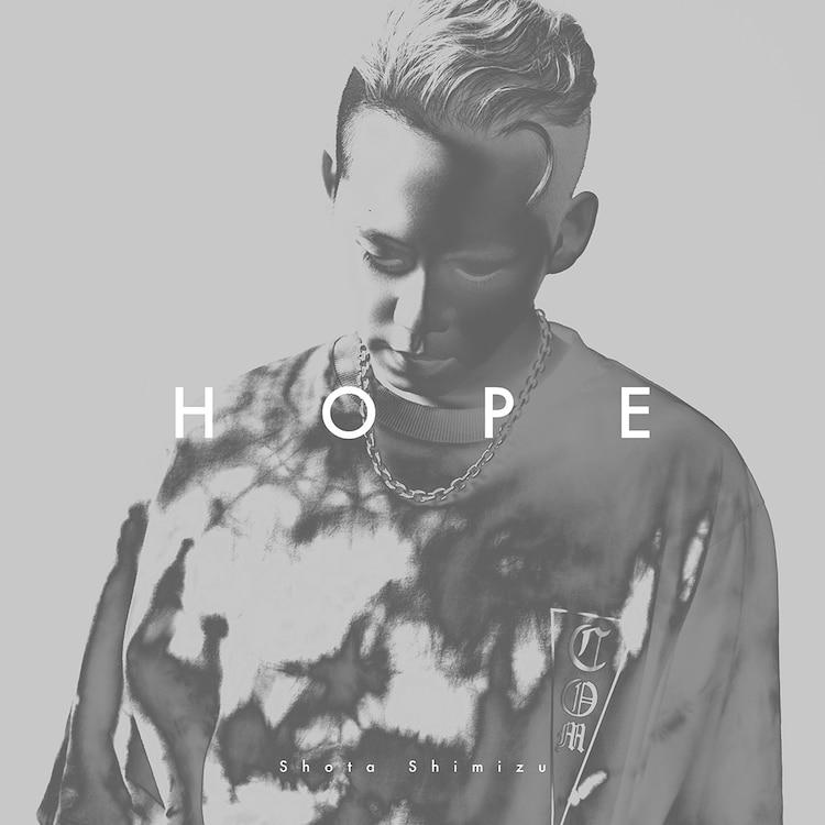 清水翔太「HOPE」初回限定盤ジャケット