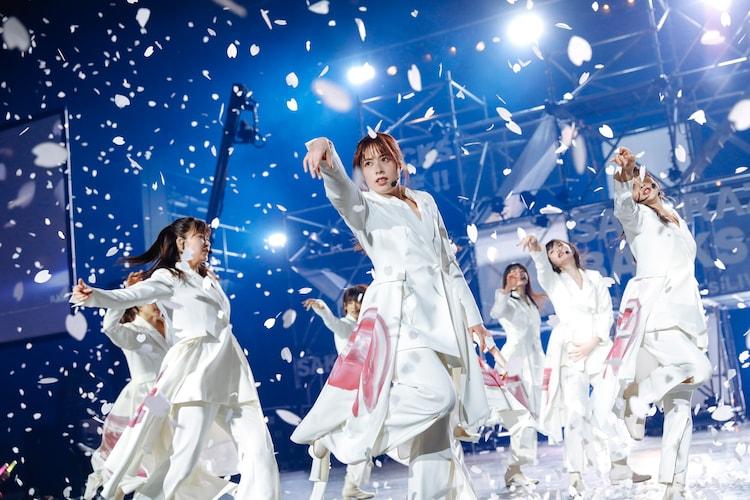 櫻坂46「BACKS LIVE!!」の様子。(撮影:上山陽介)