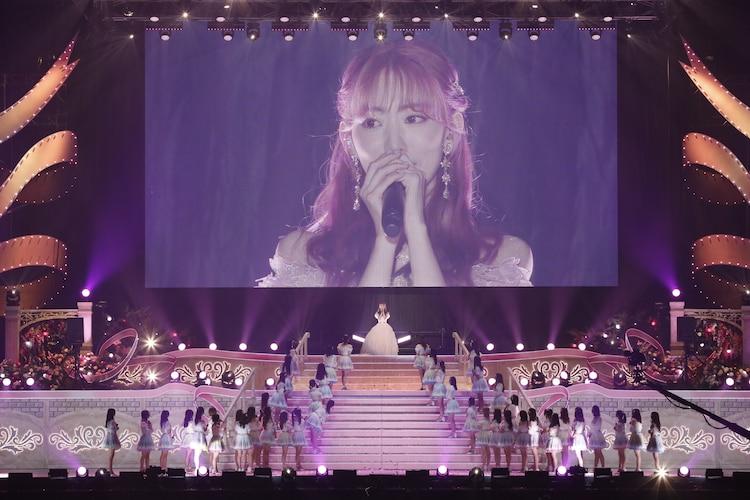 「宮脇咲良 HKT48 卒業コンサート ~Bouquet~」の様子。