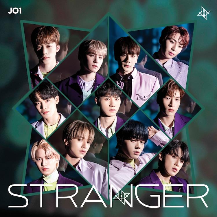 JO1「STRANGER」初回限定盤Bジャケット