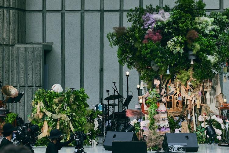 「吉澤嘉代子の日比谷野外音楽堂」の様子。(撮影:山川哲矢)