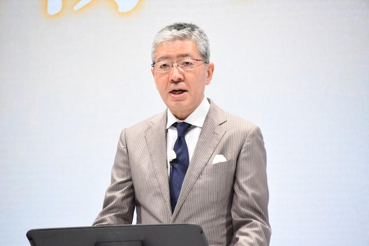 日清オイリオグループ株式会社代表取締役社長の久野貴久氏。