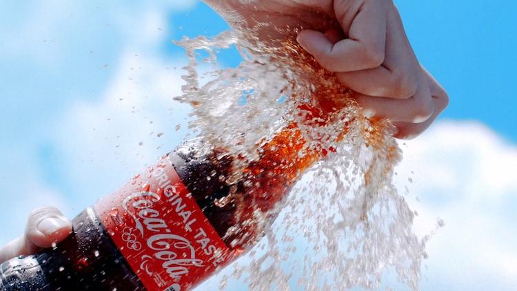 コカ・コーラ新CM「この瞬間が、私。」Summer編より。